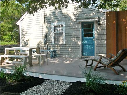Eastham Cape Cod vacation rental - Deck with gas grill for outdoor dining
