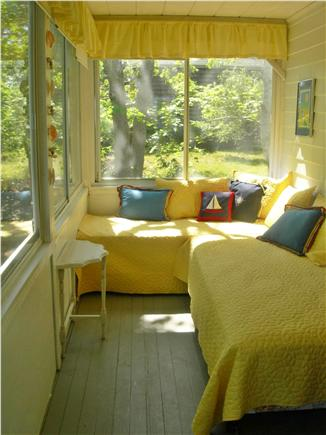 Eastham Cape Cod vacation rental - Additional Twin Bedroom with Sliding Glass Windows