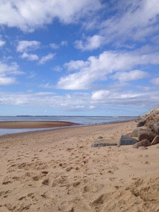Eastham Cape Cod vacation rental - Bay beach at Cooks Brook just steps away