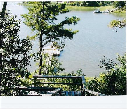 Mashpee Cape Cod vacation rental - Dock on Ockway Bay