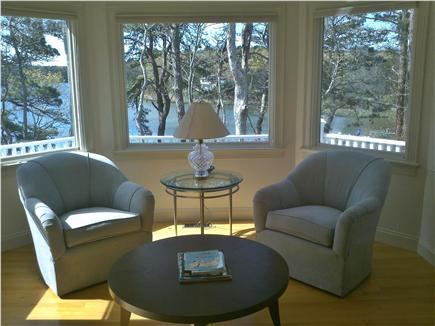 Mashpee Cape Cod vacation rental - Sitting area with great water views