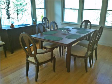 Mashpee Cape Cod vacation rental - Seating for up to eight