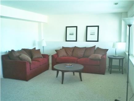 Mashpee Cape Cod vacation rental - Family room on lower level with water views