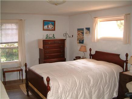 North Truro Cape Cod vacation rental - Garden view bedroom