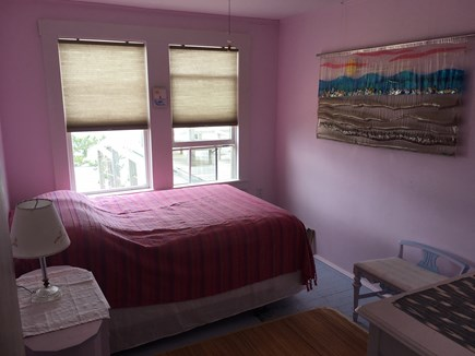 North Truro Cape Cod vacation rental - Water view bedroom ( double bed)