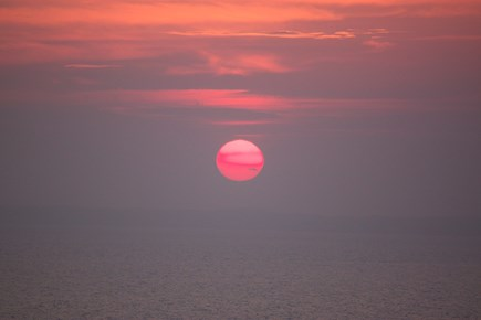 North Truro Cape Cod vacation rental - Another amazing sunset!