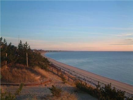 North Truro Cape Cod vacation rental - View from deck towards Corn Hill