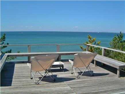 North Truro Cape Cod vacation rental - View from the deck