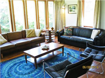 East Sandwich Cape Cod vacation rental - Living room, enjoy the sunrise, the birds or the TV.