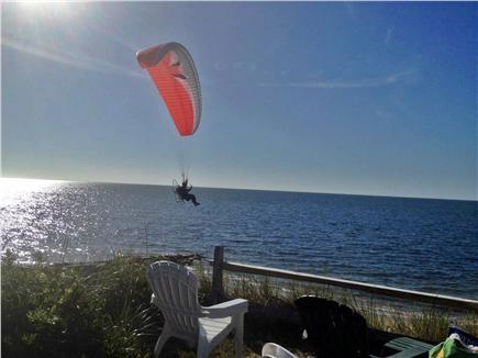 Dennis Cape Cod vacation rental - Sky Sailing Past Our Front Yard