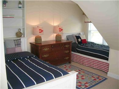 Chatham Cape Cod vacation rental - Upstairs bedroom with 2 twin beds + (2 trundle beds below)