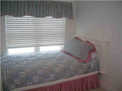 Chatham Cape Cod vacation rental - Upstairs bedroom with 1 twin + (1 trundle bed below)