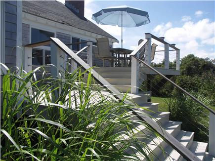 Yarmouthport Cape Cod vacation rental - The deck is very private and relaxing
