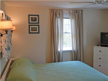 Harwich Cape Cod vacation rental - First floor bedroom with queen and TV