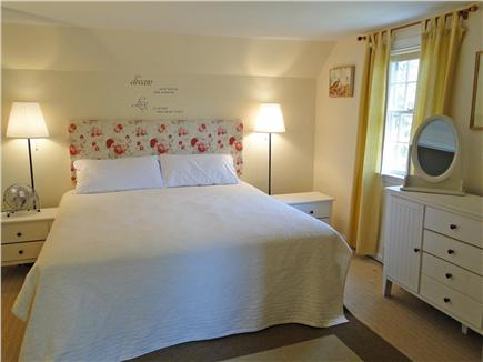 Harwich Cape Cod vacation rental - Upstairs king size Master bedroom with half bath
