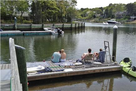 New Seabury New Seabury vacation rental - Relax on the private dock, just steps off deck