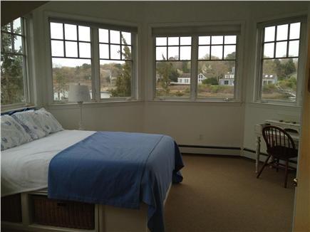 New Seabury New Seabury vacation rental - Upstairs master bedroom...look at the windows!
