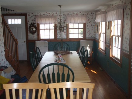 Brewster Cape Cod vacation rental - Look From Kitchen at Dining Area