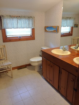 Brewster Cape Cod vacation rental - Upper Floor Master Bathroom