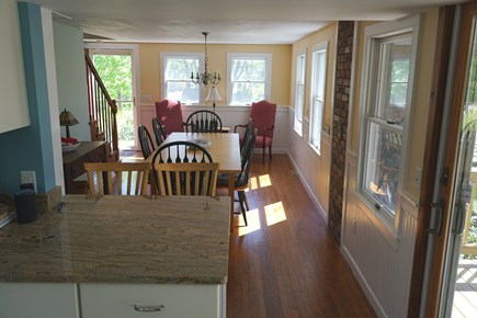 Brewster Cape Cod vacation rental - Dining Area View From Kitchen
