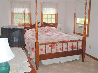 Brewster Cape Cod vacation rental - Master bedroom with queen and full bath