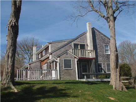 Brewster Cape Cod vacation rental - Side view of home