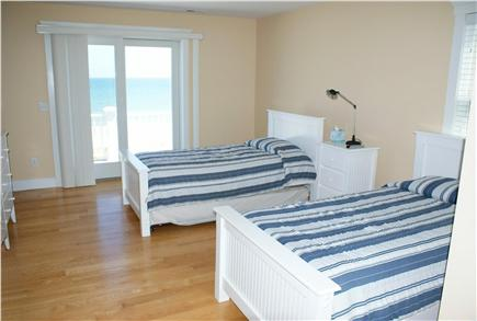 Sandwich Cape Cod vacation rental - Bedroom with 4 Twins.
