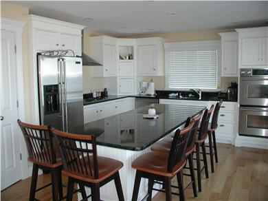 Sandwich Cape Cod vacation rental - Bar top style dining in the upscale kitchen.
