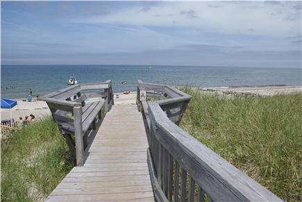 East Sandwich Cape Cod vacation rental - Head down to the beach for a perfect summer day.