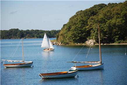 Woods Hole, Quissett Harbor Woods Hole vacation rental - View from Boathouse