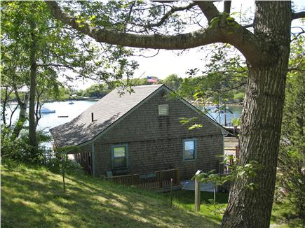 Woods Hole, Quissett Harbor Woods Hole vacation rental - Setting of ''The Boathouse'' on Quissett Harbor