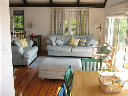 Woods Hole, Quissett Harbor Woods Hole vacation rental - Living / Dining area