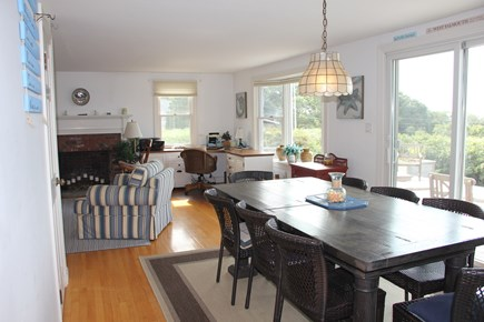West Falmouth Cape Cod vacation rental - Dining Area with awesome views