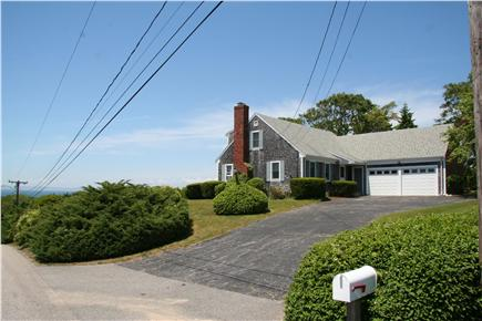 West Falmouth Cape Cod vacation rental - Classic cape house high on the hill to optimize the view!