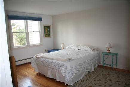 West Falmouth Cape Cod vacation rental - 1st Flr Bedroom- King Bed & window AC