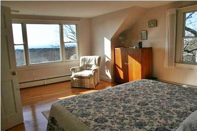 West Falmouth Cape Cod vacation rental - 2nd Flr Bedroom - King Bed & even better views