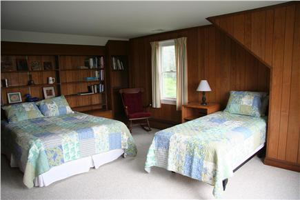 West Falmouth Cape Cod vacation rental - 2nd Flr Bedroom - Queen & Twin Bed & central AC