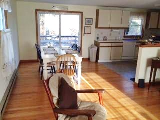 Chatham Cape Cod vacation rental - Dining area with sliders to deck