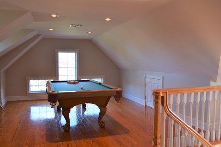 Yarmouth Port Cape Cod vacation rental - Pool room and separate game room (air hockey and foosball)