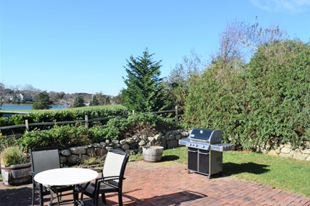 Yarmouth Port Cape Cod vacation rental - Back Patio -- magnificent views and sunsets