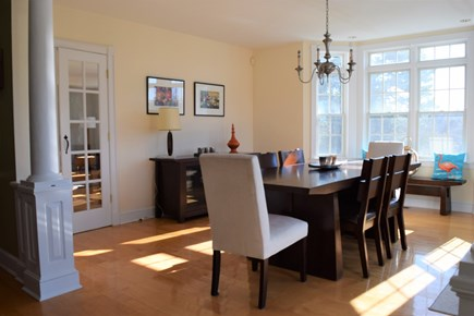 Yarmouth Port Cape Cod vacation rental - Dining room with beautiful views