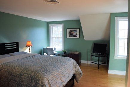 Yarmouth Port Cape Cod vacation rental - Bedroom - queen bed, sitting area and private bathroom