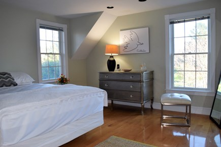 Yarmouth Port Cape Cod vacation rental - Bedroom - queen bed, access to loft and bathroom