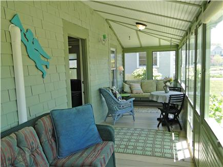 BREWSTER Cape Cod vacation rental - Front Porch - pefect for relaxation, morning coffee