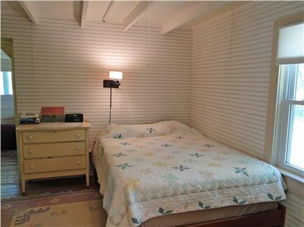 BREWSTER PARK Cape Cod vacation rental - Queen bedroom on main floor with adjacent bathroom