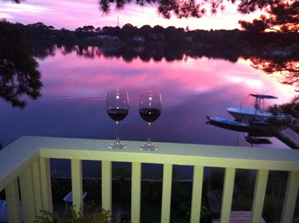Yarmouth Cape Cod vacation rental - Relax and enjoy the daily sunsets