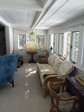 Yarmouth Cape Cod vacation rental - Sun room adjacent to family room