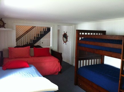 Yarmouth Cape Cod vacation rental - Bedroom 3 w/trundle bed open