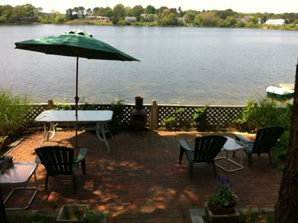 Yarmouth Cape Cod vacation rental - Large brick patio