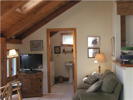 Plymouth, Manomet MA vacation rental - Relaxing Sitting / Television area in Sunroom & skylites